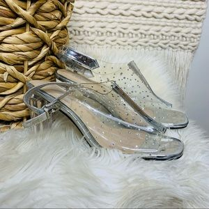 Valentini Franco Clear Studded Shoes